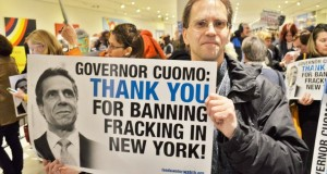 Photo courtesy of New Yorkers Against Fracking