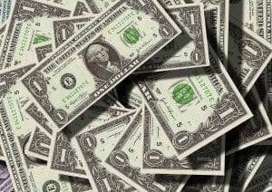 Dollar Bills; Image Courtesy of Pixabay, https://pixabay.com/