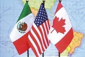 NAFTA; Image Courtesy of NDP Justice, http://www.lovingjustwise.com/nafta.htm