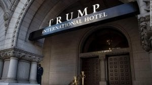 Trump Hotel; Image Courtesy of CNN, http://www.cnn.com/