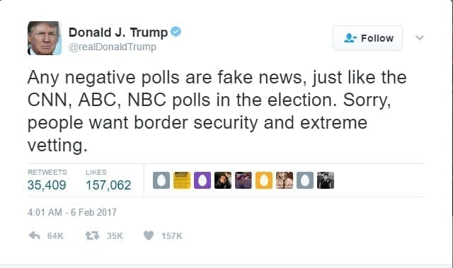 politics trumps twitter followed millions inactive fake accounts