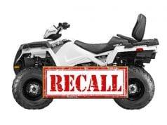 Image of Polaris Recalled ATV