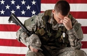 Soldiers with PTSD and other mental disorders being dishonorably discharged