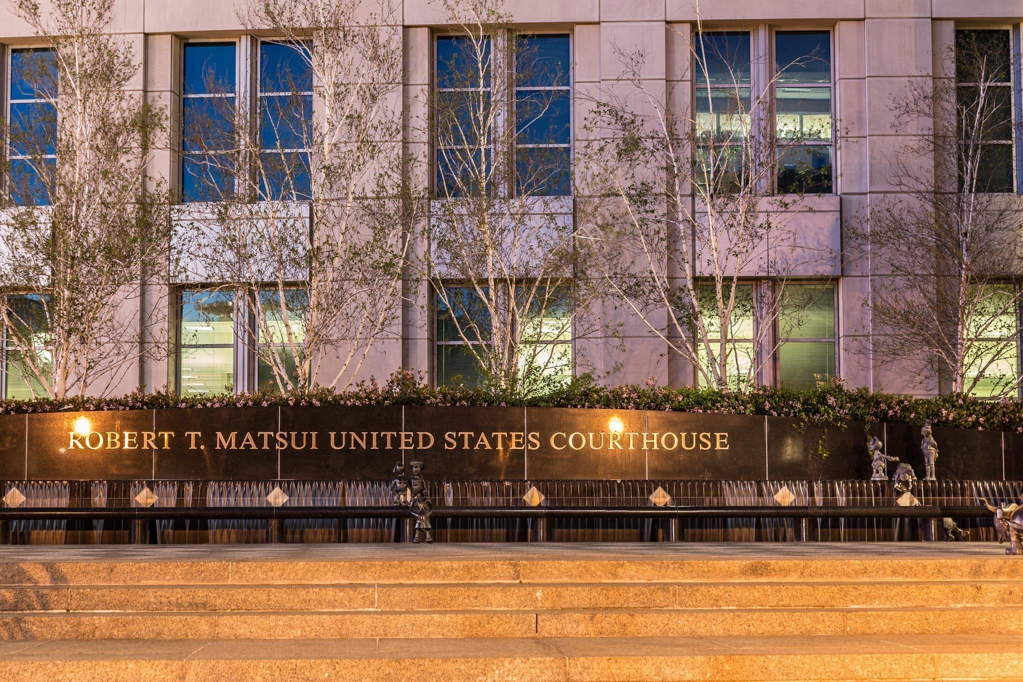 Robert T. Matsui United States Courthouse - U.S. District Court, Sacramento; photo by Tony Webster, via Flickr, CC BY-SA-2.0, no changes.