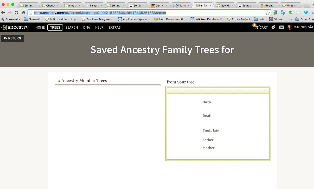 Screenshot from Ancestry; image by Magnus, via Flickr, CC BY-ND 2.0, no changes.