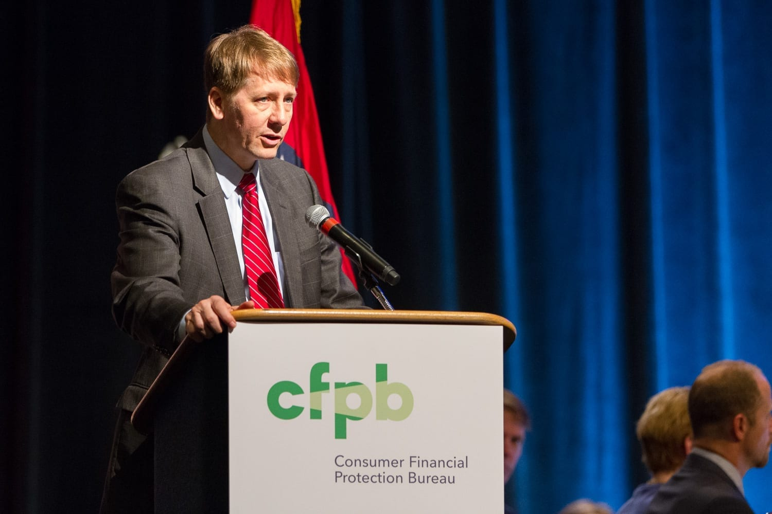 Richard Cordray; image by Consumer Financial Protection Bureau, Public domain, via Wikimedia Commons.