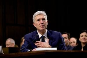 Neil Gorsuch; image by Office of Senator Luther Strange, Public domain, via Wikimedia Commons.