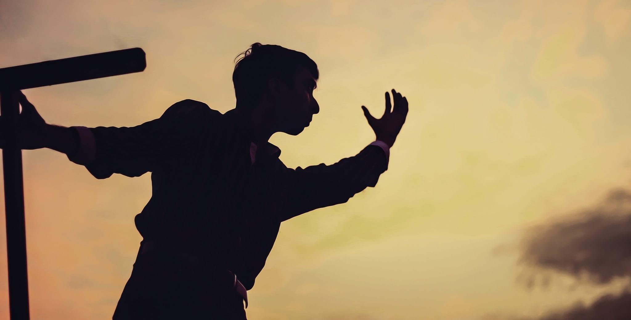 Teen silhouette; image via Pxhere, CC0.