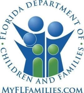 Image of the Florida Department of Children and Families logo