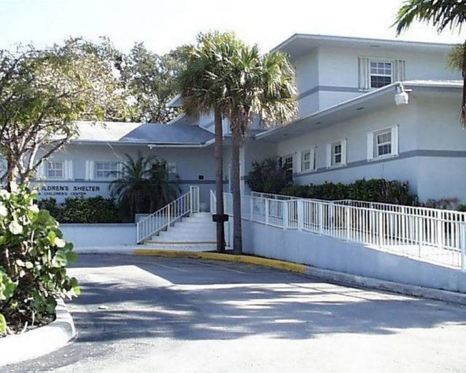 Image of the exterior of the Florida Keys Children's Shelter