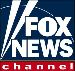 Fox News logo; image in the public domain, via Wikimedia Commons.