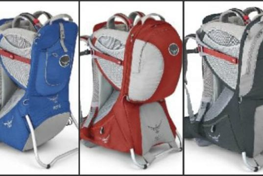 Image of Recalled Osprey Child Carriers