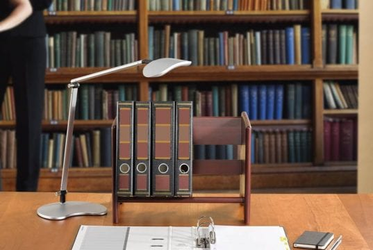 """One-Touch Barrister 3-Ring Binders, shown in 2"""" and 3"""" Spine varieties"""