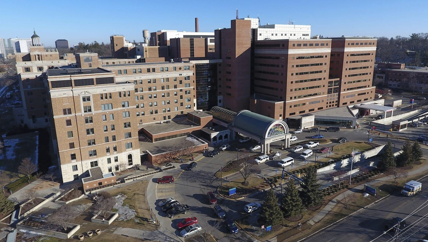 Image of the The Mayo Clinic Hospital, Saint Mary's Campus in Rochester, Minn.