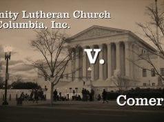 Trinity Lutheran v. Comer