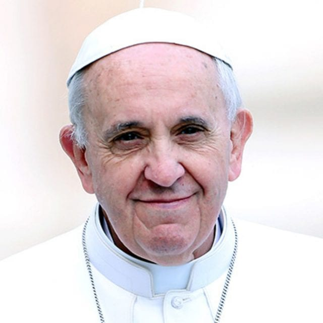 Pope Francis offers hope to the poor