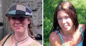 Photos of Raechel Houck (left) and Jacqueline Houck (right)