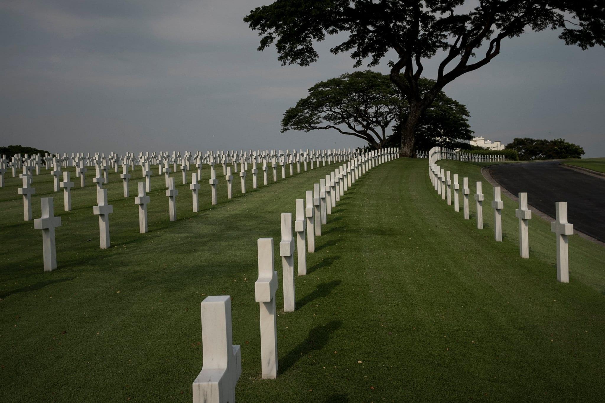 The American Cemetery in Manila