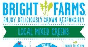 Image of a BrightFarms label