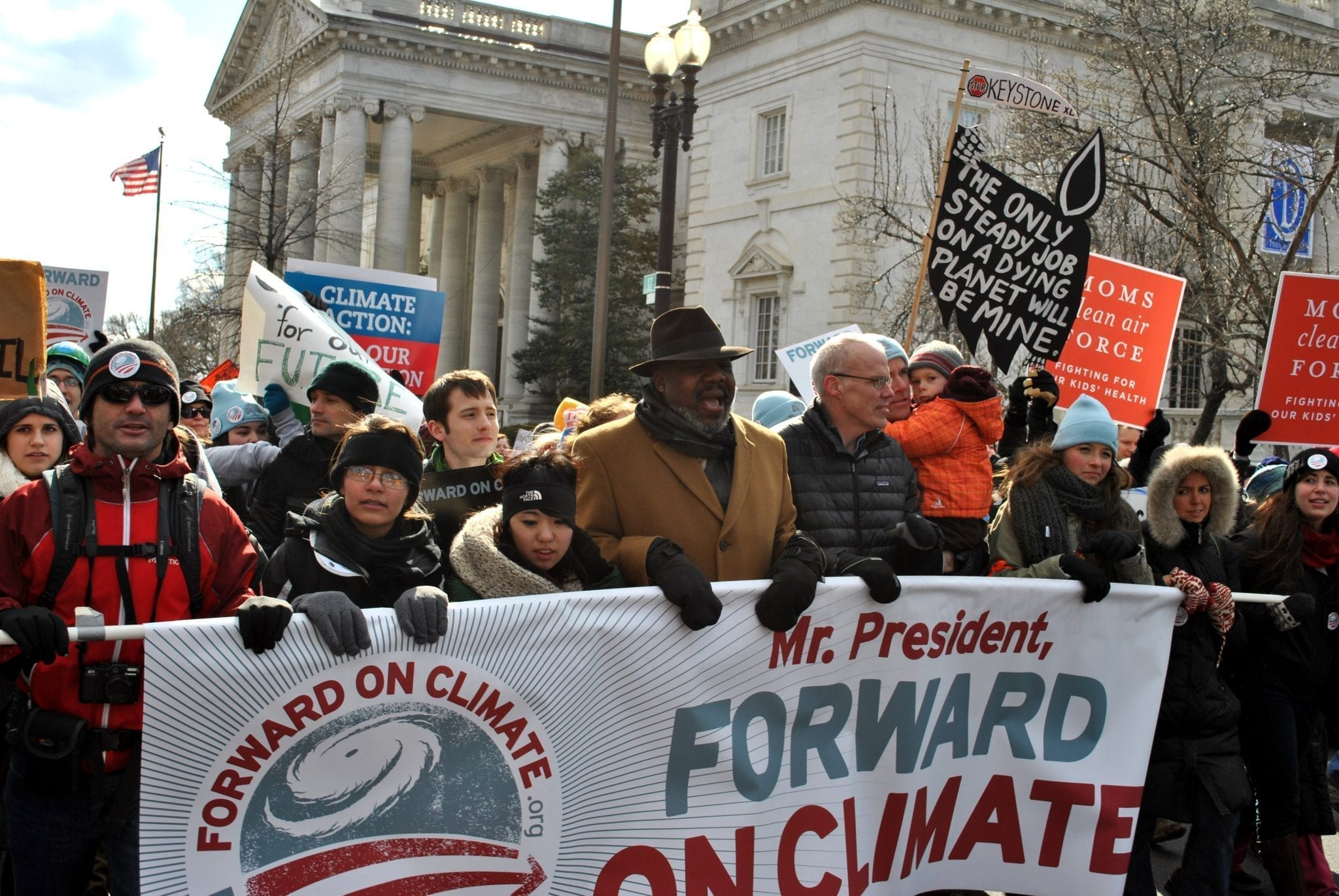 Forward on Climate rally; image by chesapeakeclimate, CC BY-SA 2.0, via Wikimedia Commons, no changes.
