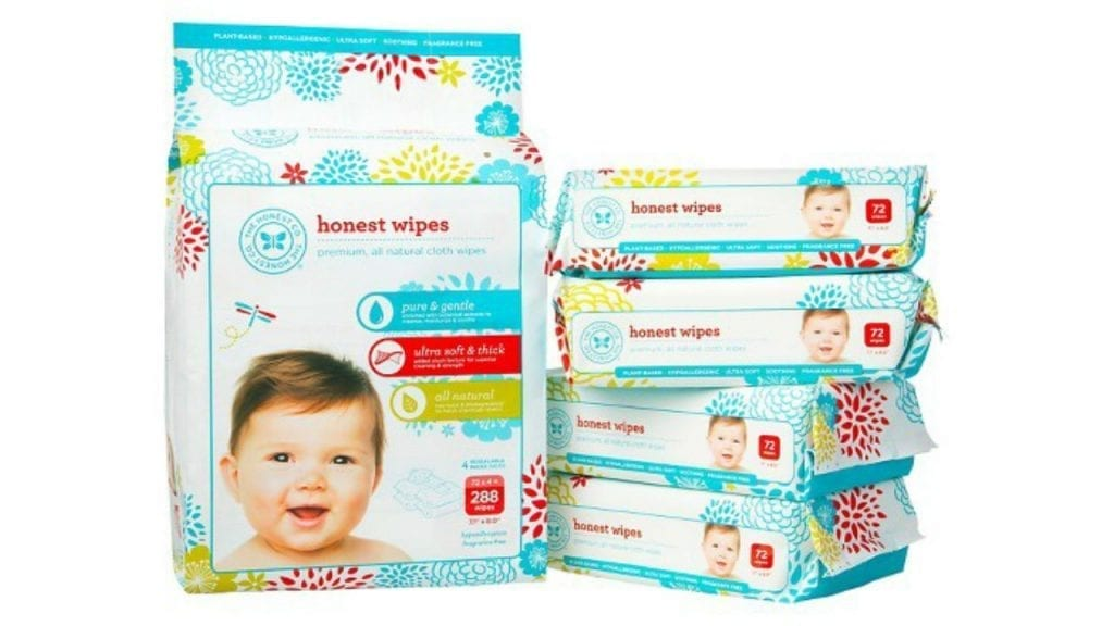 Image of Honest Co. Baby Wipes