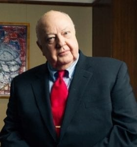 Roger Ailes; image by Ninian Reid, CC BY 2.0, via Wikimedia Commons, no changes.