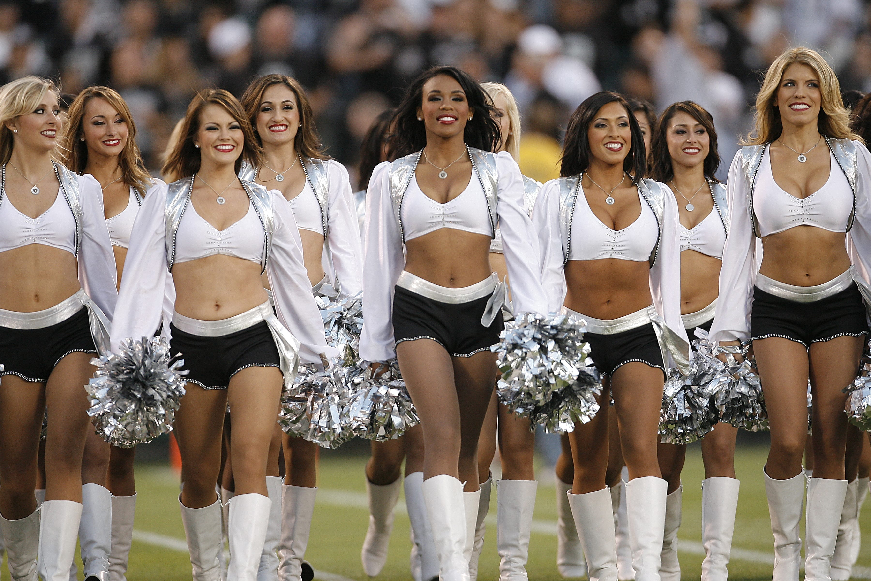 Image of the Oakland Raiderettes