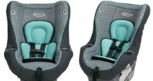 Image of the recalled Graco Car Seat