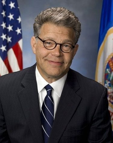 The official Senate portrait of Al Franken, the Democrat from Minnesota.