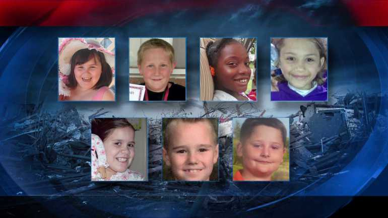 Image of the 7 Children Killed After Tornado Ripped Through School