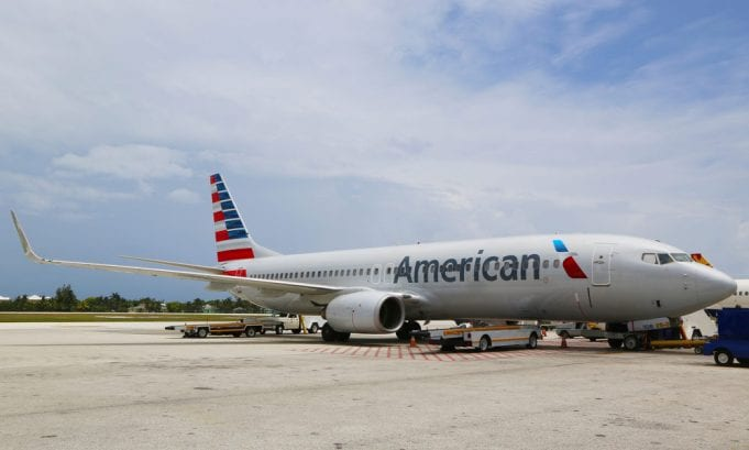 Image of an American Airlines Plane