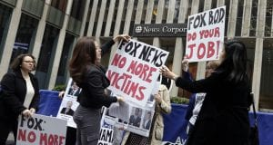 Image of a Fox News Protest