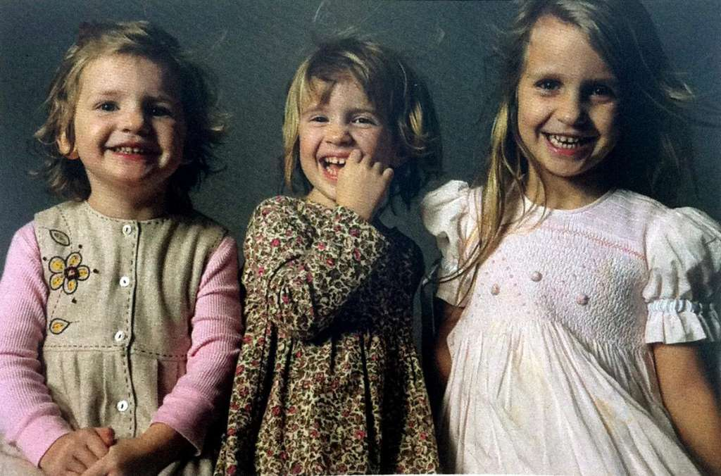 Image of Grace, Sarah and Lily Badger