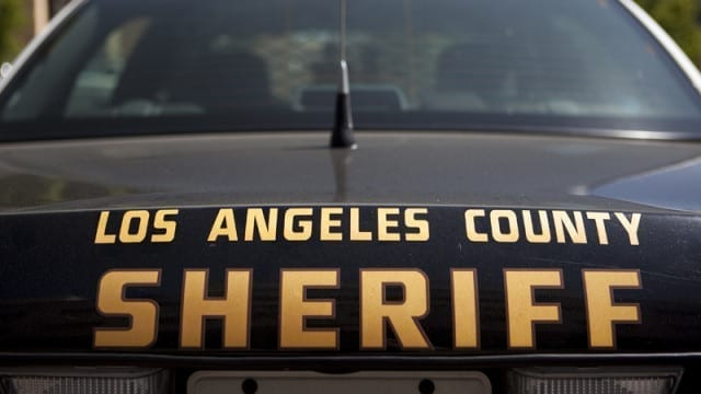 Image of a Los Angeles County Sheriff Cruiser