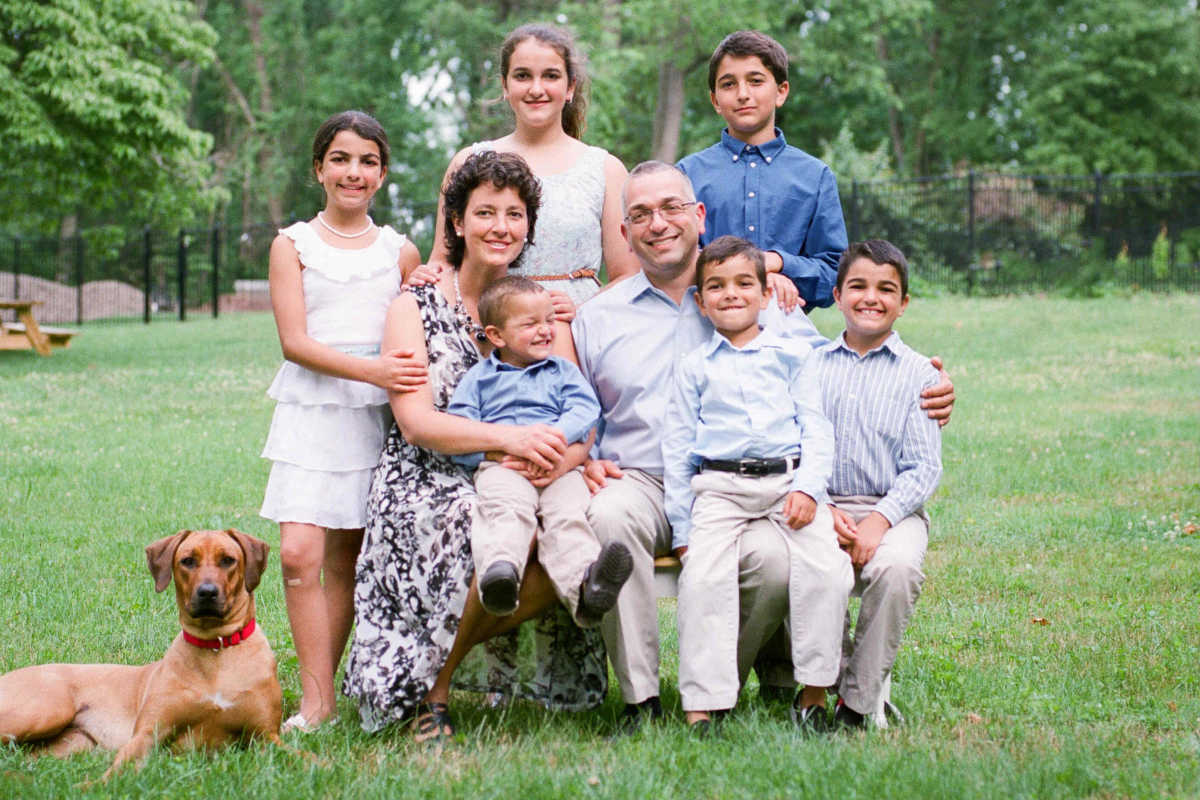 A 2016 family photo; image courtesy of www.philly.com.