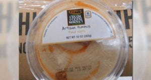 Image of Recalled Harris Teeter Hummus
