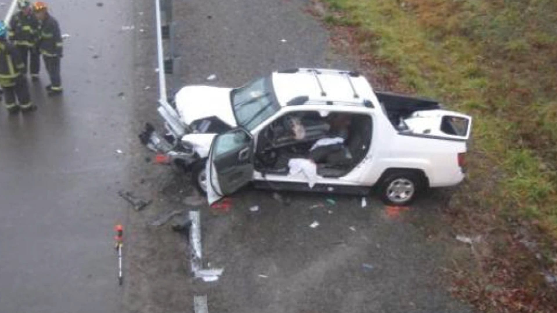 Image of the Sabrena Carter Accident Site