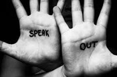 Speak out; image courtesy of the Essure Problems Facebook Page