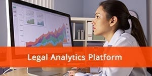 Lex Machina's Legal Analytics platform; image courtesy of Lex Machina.