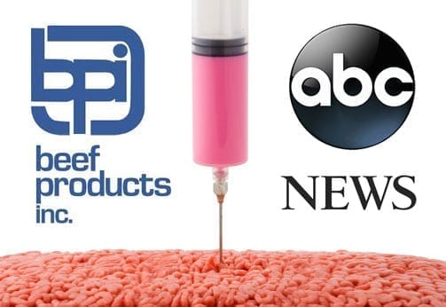 Image of the Beef Products Inc. and ABC News Logos