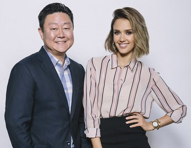 Image of Brian Lee and Jessica Alba, Co-Founders of the Honest Co.