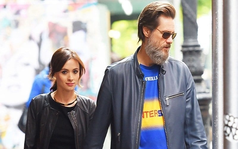 Image of Cathriona White and Jim Carrey