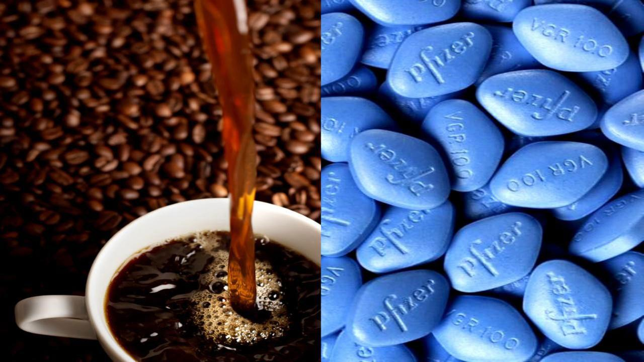 Coffee and viagra interaction