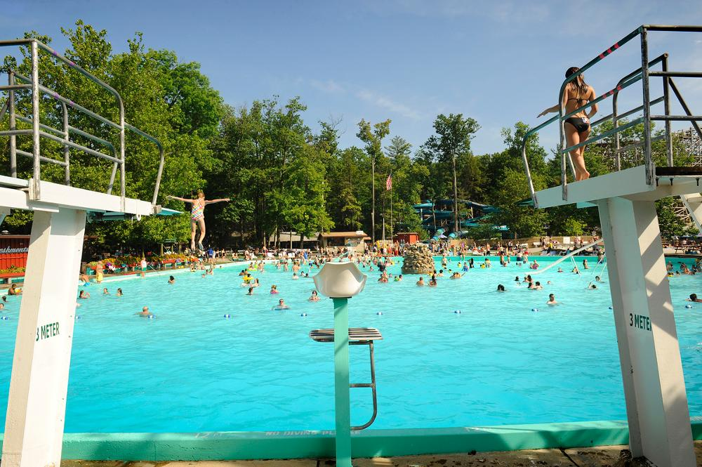 Pool at Knoebels Amusement Resort