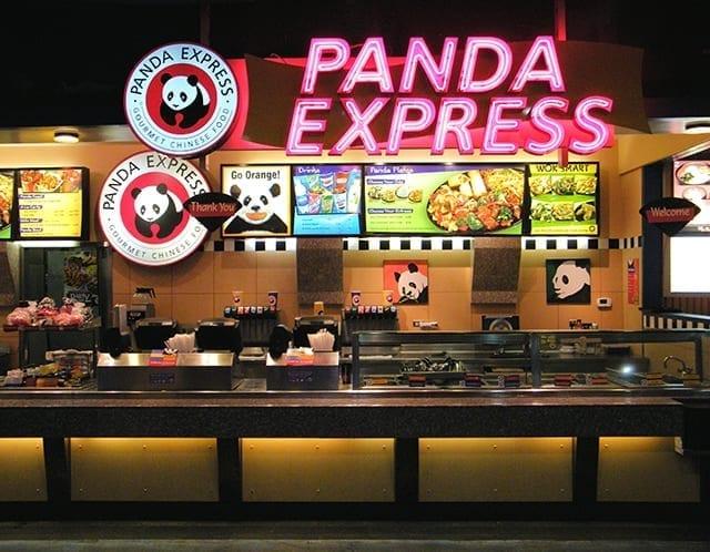 Image of a Panda Express restaurant
