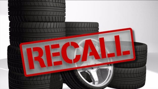 Image of Primewell Tire Recall