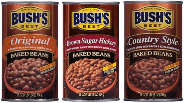 Image of the Recalled Bush's Beans