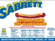 Image of Recalled Sabrett Hot Dogs