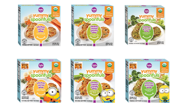 Image of the Recalled Yummy Spoonfuls Baby Food
