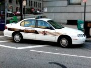 Image of a Baltimore Police Car